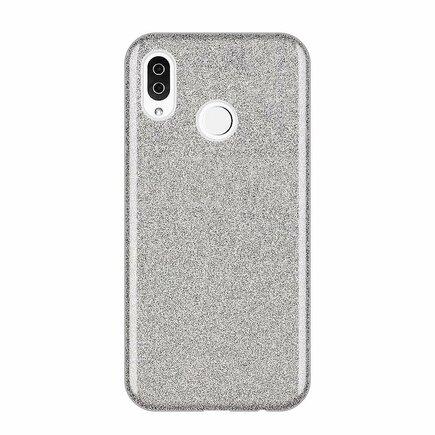 Glitter Case lesklé pouzdro s brokátem Samsung Galaxy A50s / Galaxy A50 / Galaxy A30s stříbrné
