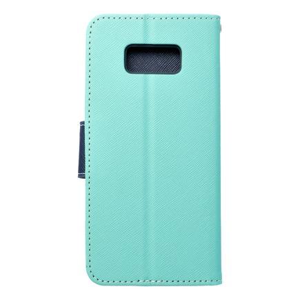 Pouzdro Fancy Book Samsung Galaxy S8 Plus mátové/tmavě modré