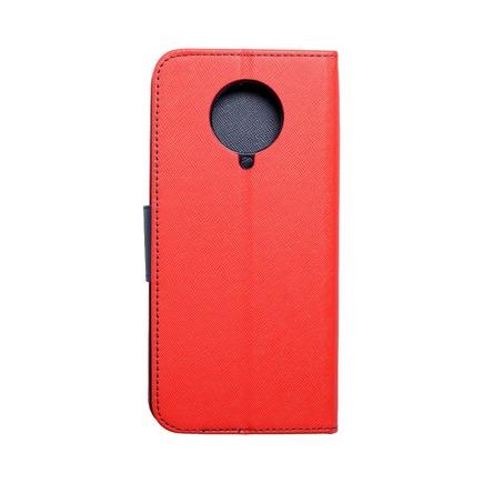 Pouzdro Fancy Book Xiaomi K30 Pro červené/tmavě modré