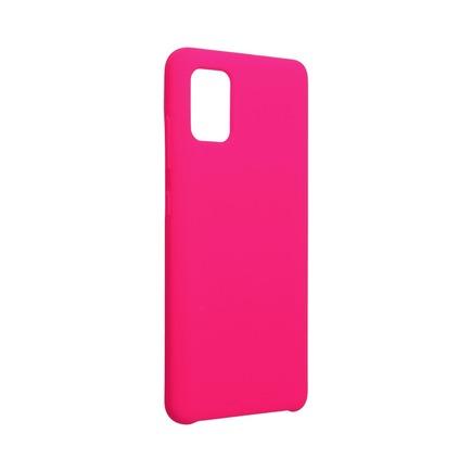 Pouzdro Forcell Silicone Samsung Galaxy A52 5G / A52 LTE ( 4G ) růžové