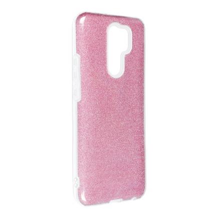 Pouzdro Shining Xiaomi Redmi 9 růžové