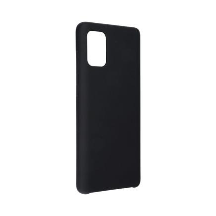Pouzdro Silicone Samsung Galaxy A71 černé