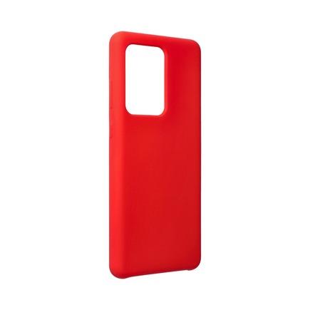 Pouzdro Silicone Samsung Galaxy S20 Ultra / S11 Plus červené