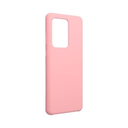 Pouzdro Silicone Samsung Galaxy S20 Ultra / S11 Plus pudrově růžové