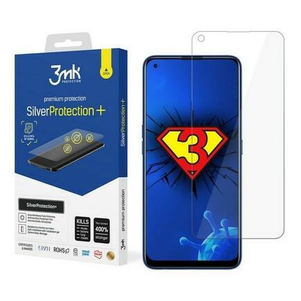 Silver Protect+ Realme 7 Pro anti mikrobní fólie s montáží na mokro