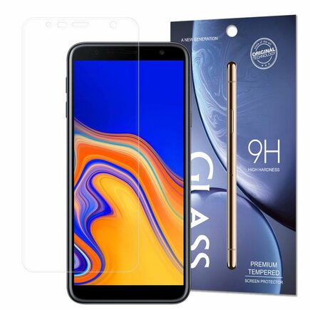 Tempered Glass tvrzené sklo 9H Samsung Galaxy J6+ 2018 (J6 Plus 2018) / Galaxy J4+ 2018 (J4 Plus 2018)