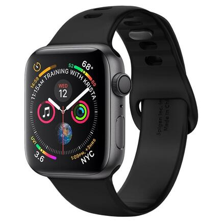 Řemínek Air Fit Band Apple Watch 1/2/3/4/5 (42/44MM) černý