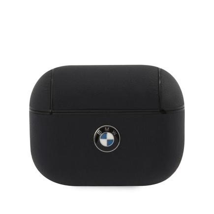 BMAPCSLNA BMW Signature Kožené pouzdro pro AirPods Pro Navy