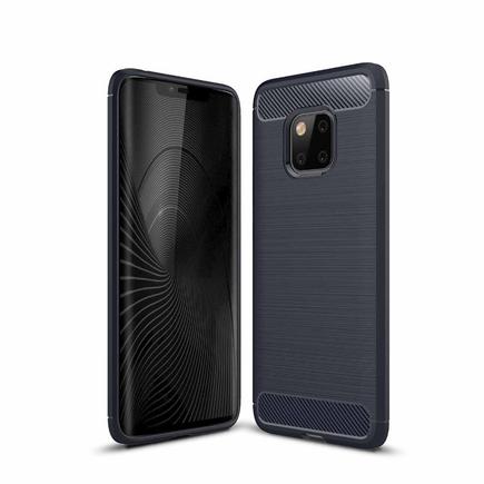 Carbon Case elastické pouzdro Huawei Mate 20 Pro modré