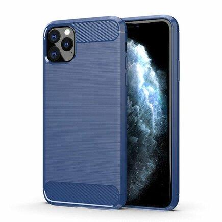 Carbon Case elastické pouzdro iPhone 11 Pro modré