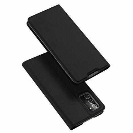 DUX DUCIS Skin Pro pouzdro s klapkou Samsung Galaxy Note 20 černé