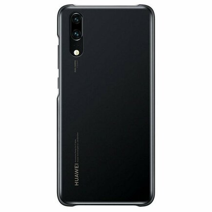 HUAWEI Silicon Back cover for Huawei P20 / Black
