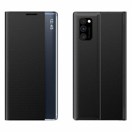 New Sleep Case pouzdro s klapkou s funkcí podstavce Samsung Galaxy A51 / Galaxy A31 černé