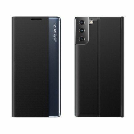 New Sleep Case pouzdro s klapkou s funkcí podstavce Samsung Galaxy S21+ 5G (S21 Plus 5G) černé