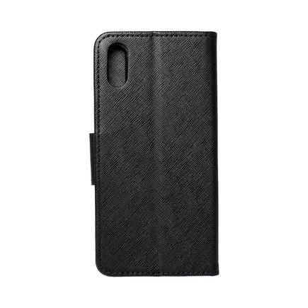 Pouzdro Fancy Book Huawei Y6 2019 černé