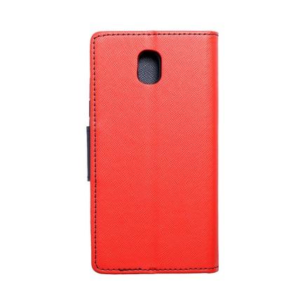 Pouzdro Fancy Book Samsung Galaxy J5 2017 červené/tmavě modré