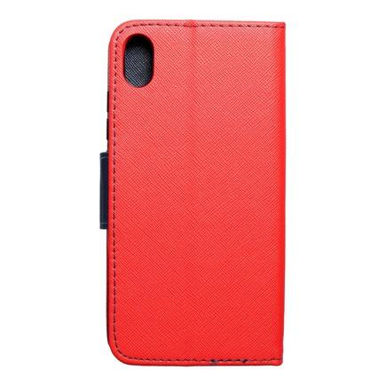Pouzdro Fancy Book Xiaomi Redmi 7A červené/tmavě modré