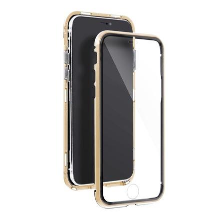 Pouzdro Magneto 360 iPhone 7 / 8 / SE zlaté