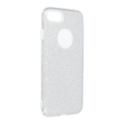 Pouzdro Shining iPhone 7 / 8 stříbrné