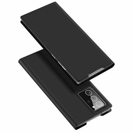 Skin Pro pouzdro s klapkou Samsung Galaxy Note 20 Ultra černé