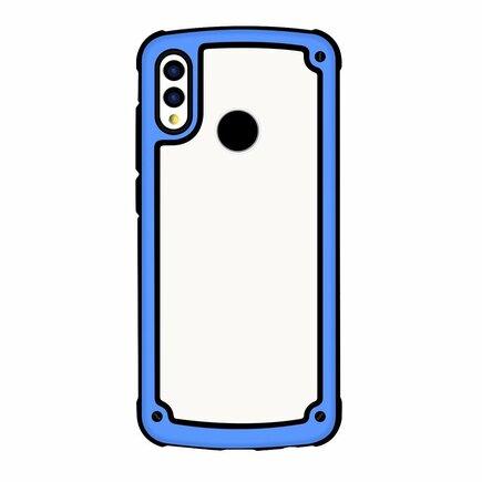 Solid Frame odolné pouzdro s gelovým rámem Huawei P Smart 2019 modré