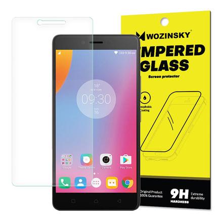 Tempered Glass tvrzené sklo 9H Lenovo K6 Note (balení - obálka)