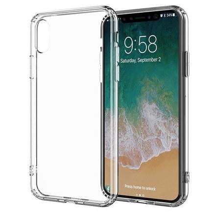 Clear Cover - Pouzdro iPhone Xs Max (průsvitné)