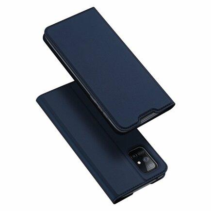 DUX DUCIS Skin Pro pouzdro s klapkou Samsung Galaxy A51 5G modré