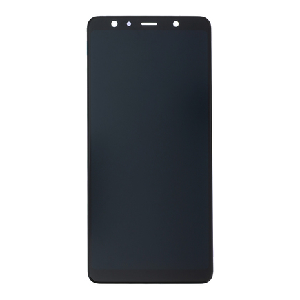 LCD display + Dotyk černý pro Samsung A750 Galaxy A7 2018 (Service Pack)