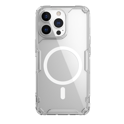 Nillkin Nature TPU PRO Magnetic Kryt pro iPhone 13 Pro Max průsvitný
