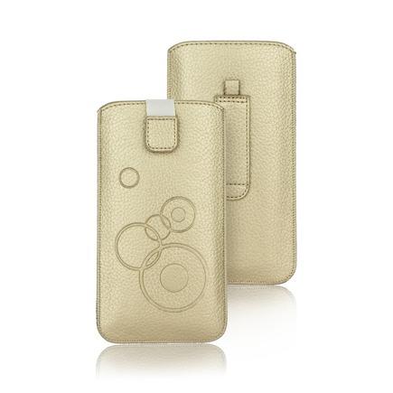 Pouzdro Deko iPhone 5 / 5S / 5SE / 5C zlaté