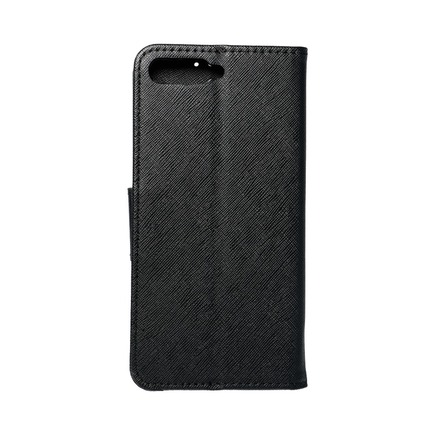 Pouzdro Fancy Book Huawei Y6 2018 černé