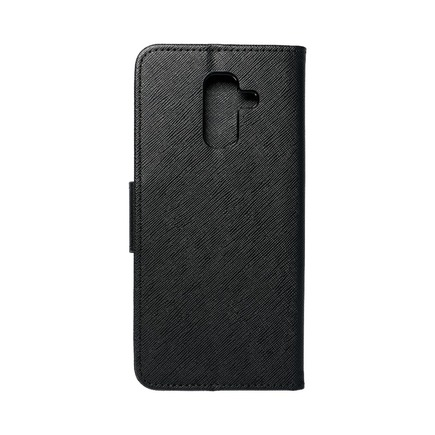Pouzdro Fancy Book Samsung A6 Plus 2018 černé