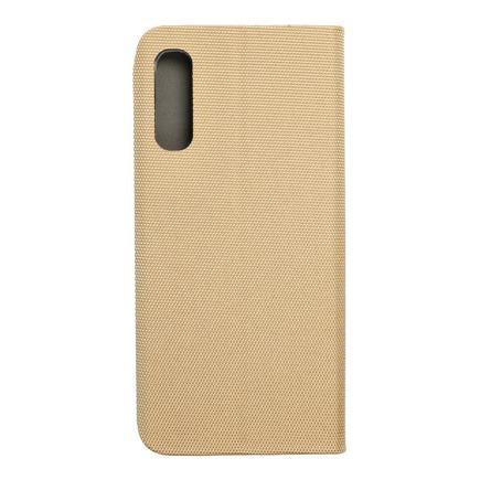 Pouzdro Sensitive Book Samsung A70 / A70s zlaté