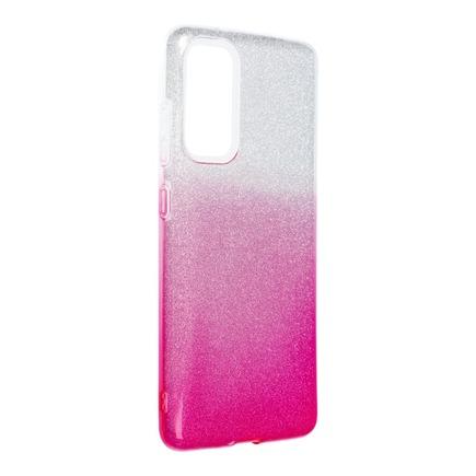 Pouzdro Shining Samsung Galaxy S20 FE / S20 FE 5G průsvitné/růžové