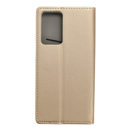 Pouzdro Smart Case book Samsung Note 20 Plus zlaté