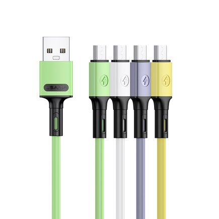 SJ435 U52 Datový a Nabíjecí Kabel Micro USB 1m bílý (EU Blister)