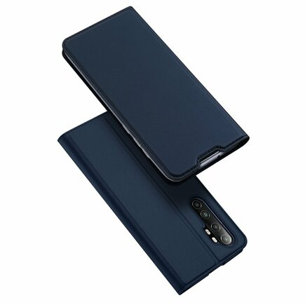 DUX DUCIS Skin Pro pouzdro s klapkou Xiaomi Mi Note 10 Lite modré
