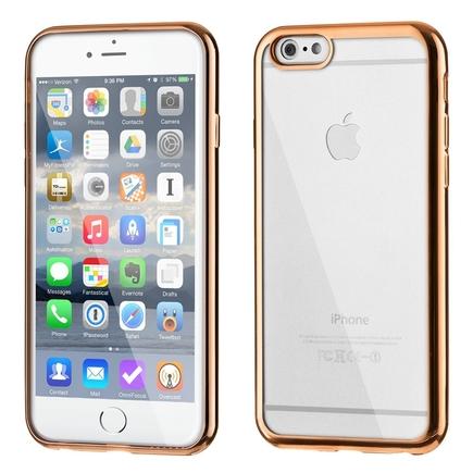 Gelové pouzdro Metalic Slim iPhone 6S Plus 6 Plus zlaté