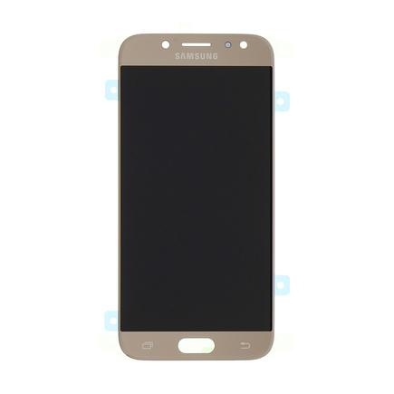 LCD display + Dotyk zlatý pro Samsung J530 Galaxy J5 2017 (Service Pack)