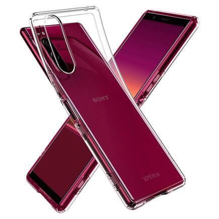Pouzdro Liquid Air Crystal Sony Xperia 5 průsvitné