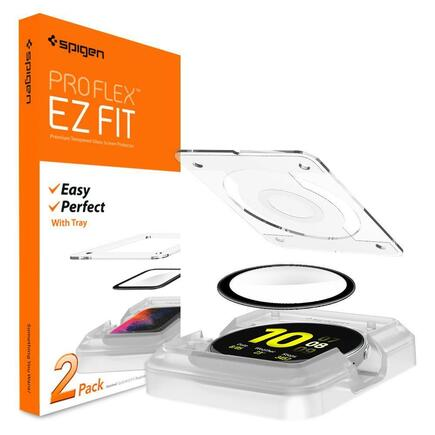 "Spigen hybridní sklo Proflex ""Ez Fit"" Galaxy Watch Active 2 44mm"