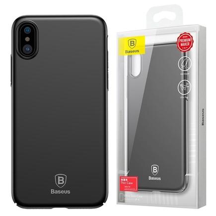 Thin Case ultra tenké pouzdro na iPhone X černé