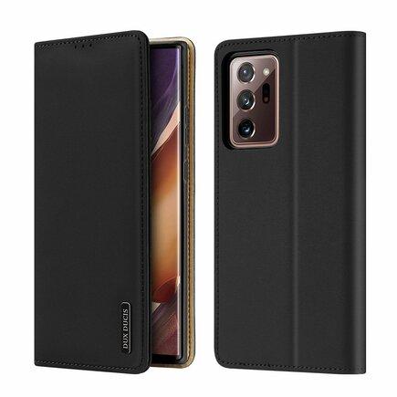 Wish kožené pouzdro Samsung Galaxy Note 20 Ultra černé