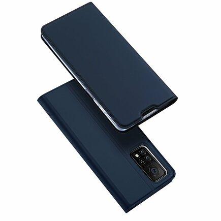 DUX DUCIS Skin Pro pouzdro s klapkou Xiaomi Mi 10T Pro / Mi 10T modré