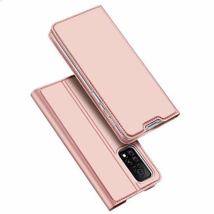 DUX DUCIS Skin Pro pouzdro s klapkou Xiaomi Mi 10T Pro / Mi 10T růžové