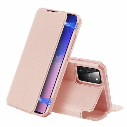 DUX DUCIS Skin X pouzdro s klapkou Samsung Galaxy S10 Lite růžové
