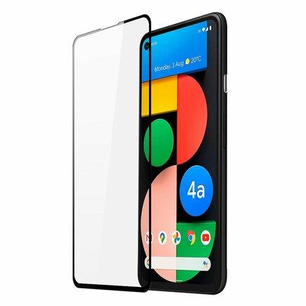 Dux Ducis 10D Tempered Glass odolné tvrzené sklo 9H na celý displej s rámem Google Pixel 4a 5G černé (case friendly)