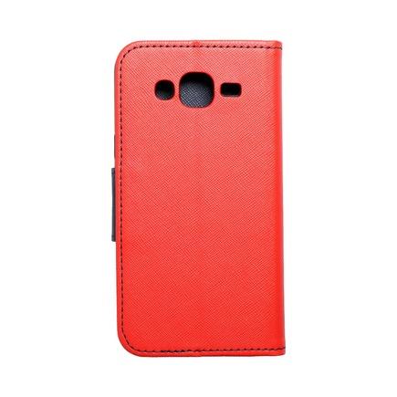 Pouzdro Fancy Book Samsung Galaxy J5 červené/tmavě modré