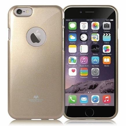 Pouzdro Jelly Case zlaté Xiaomi Redmi 4X
